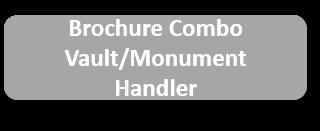 Brochure Combo Vault Monument Handler