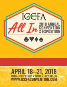 ICCFA 2018 Convention Logo