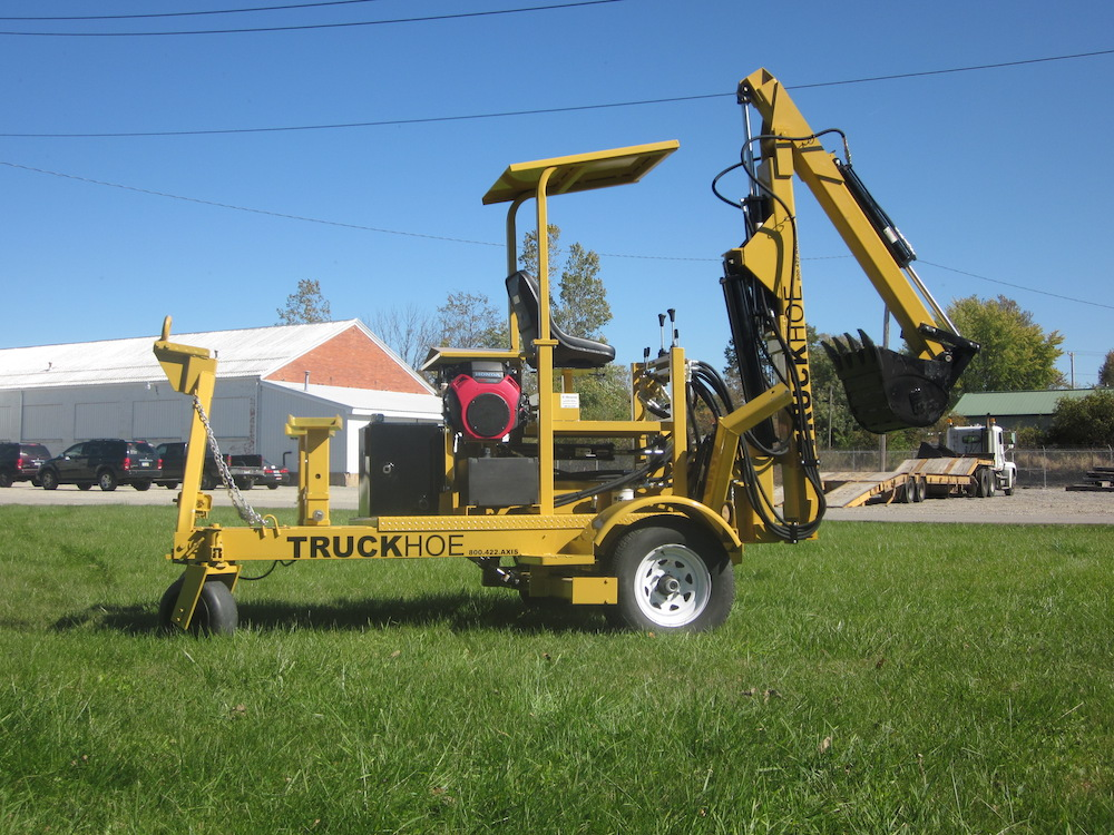 Towable Truckhoe