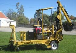 The Towable Truckhoe | Axis Corporation