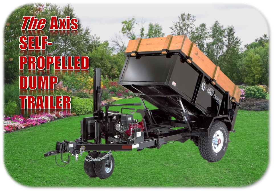 Dump Trailer Graphic